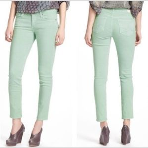 AG Adriano Goldschmeid Mint Stevie Ankle Jeans